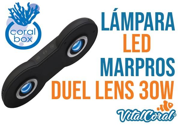 Lámpara LED Marpros Duel Lens 30W envíos a todo Chile, despacho gratis en Santiago
