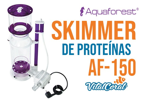 Skimmer de proteínas Aquafotest AF -150 disponible en Chile en VitalCoral
