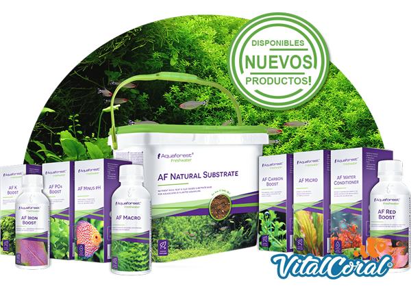 Productos Aquafores para agua dulce disponibles para envío a todo Chile